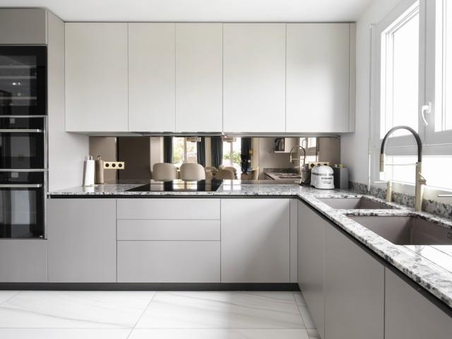 Une cuisine repensée et modernisée avec élégance