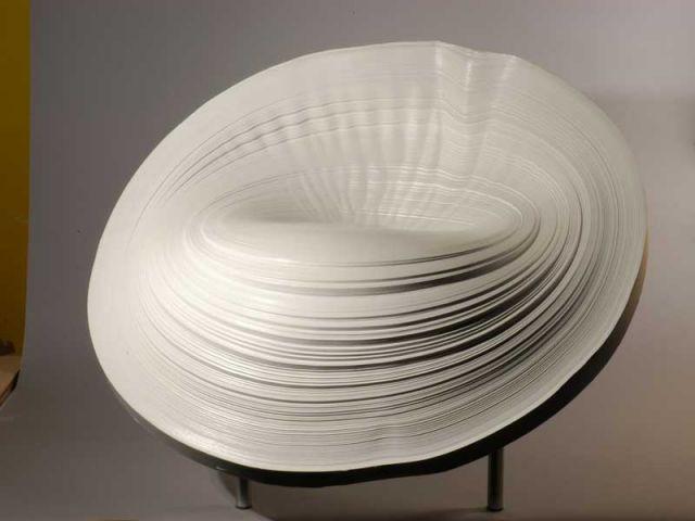 Siège bobine, création d'Elise Fouin.