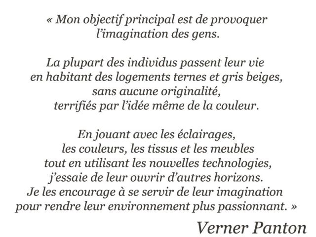 citation Verner Panton