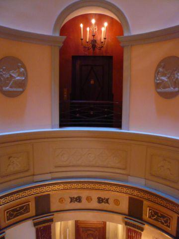 l'hotel vue couloir