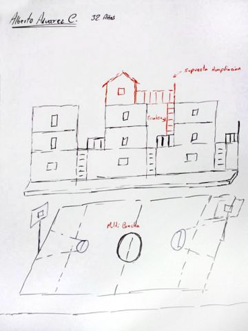 Elemental team dessin d'un habitant