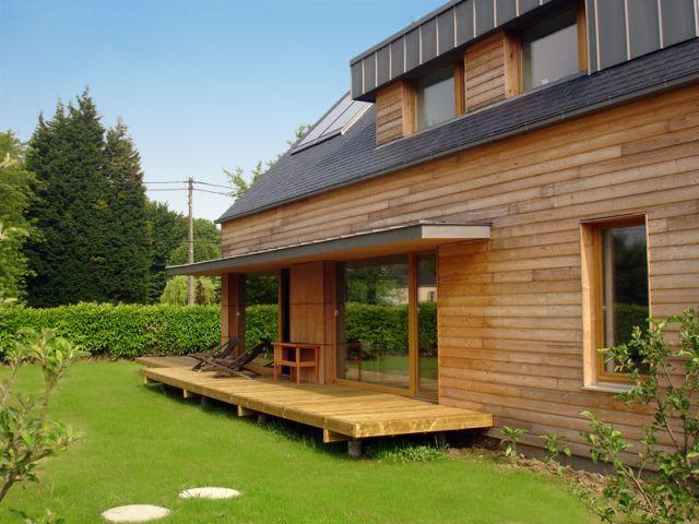 Une maison neuve sur le standard passif for Maison standard