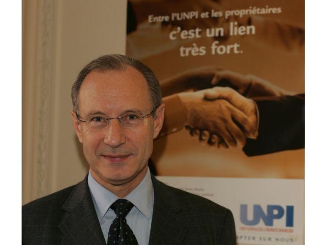 Jean Perrin, Président de l'UNPI.
