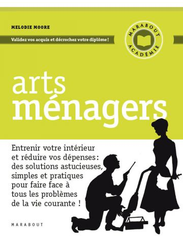 Arts Ménagers - de Melodie Moore - Editions Marabout