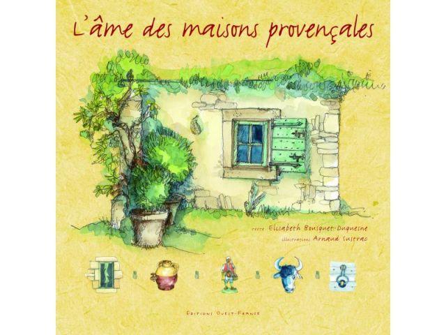 Maison provençale - illustration - Livre