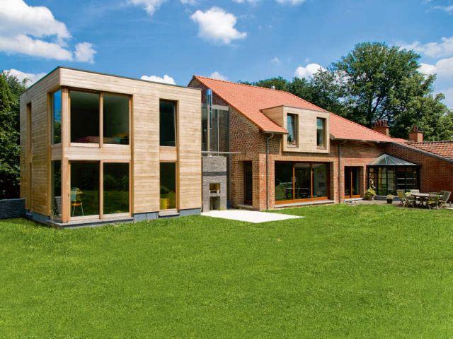 Visiter des maisons d 39 architectes - Mobilier de jardin brabant wallon versailles ...