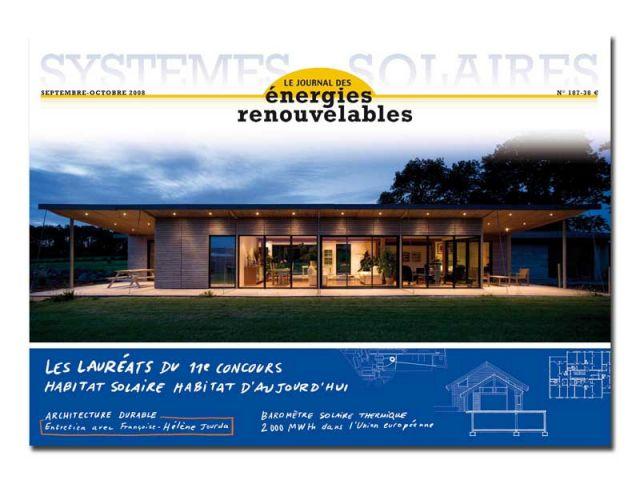 Systèmes solaires, journal des énergies renouv.