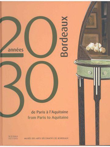 couverture livre bordeaux années 20-30