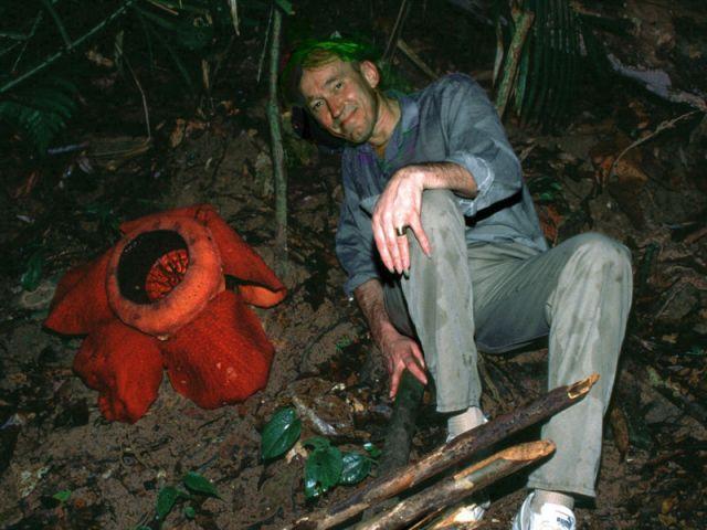 Patrick Blanc lors d'un voyage en Thaïlande.
