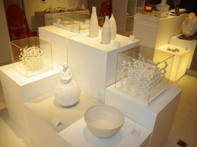 Exposition blanc Ateliers d'art