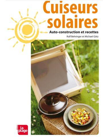 """couverture livre """"Cuiseurs solaires"""""""
