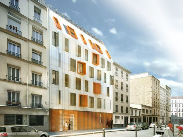 logement social à énergie positive dans Paris