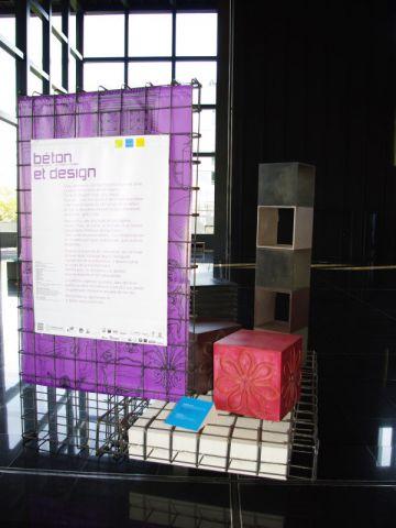 La scnénographie de l'exposition est signée Anthony Hamon.