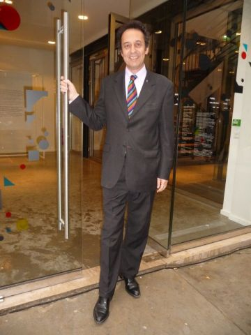 Laurent Dutheil, directeur du Lieu du Design.