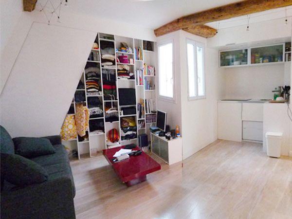 Chambre De Bonne Sur Paris avant/après : des chambres de bonne converties en appartement