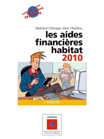 guide ademe 2010 aides financières