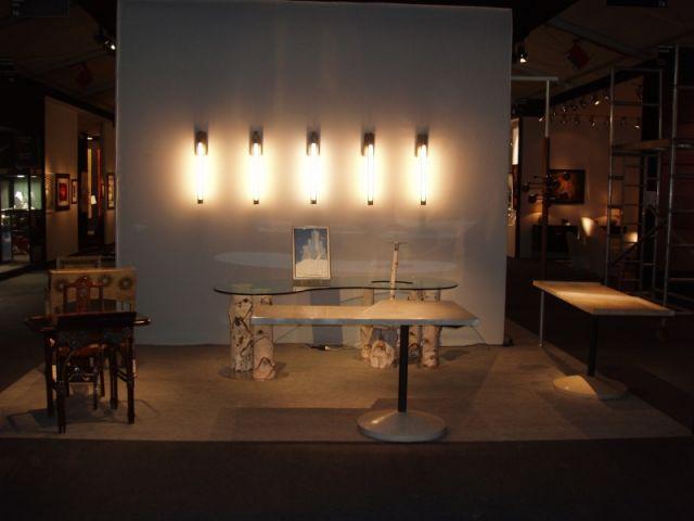 Le prix du stand du Pavillon des Arts et du Design a été décerné à la galerie Yves et Victor Gastou.