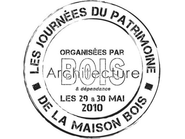 logo Journées patrimoine maison bois