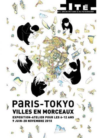 Paris-Tokyo, villes en morceaux, expo-atelier pour enfants