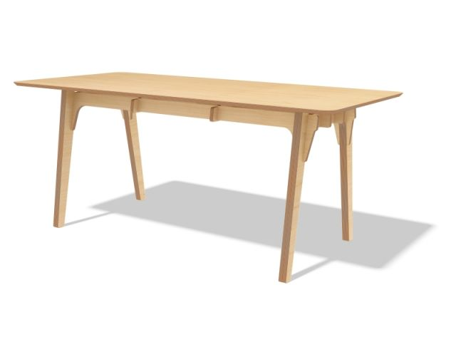 """Table """"Edifice"""", pièce éditée par l'Edito. Design : Philippe Riehling."""