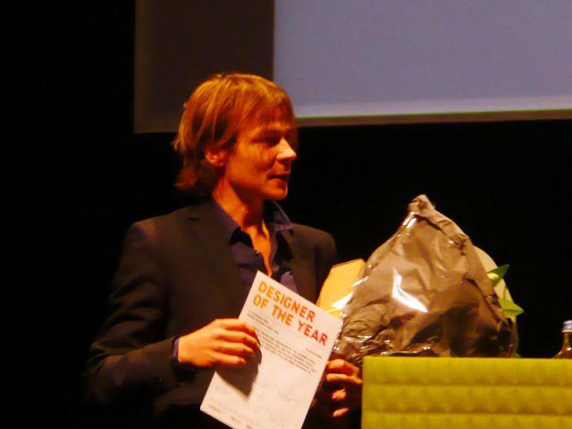 Bram Boo, le 16 octobre, élu designer de l'année