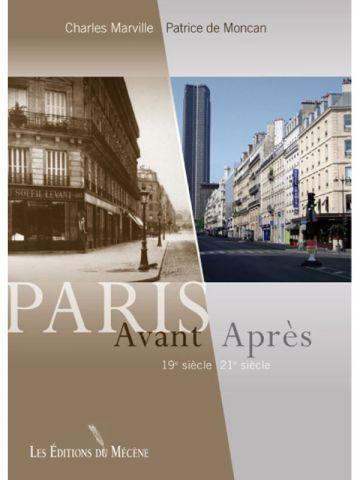 Couverture Avant après Paris