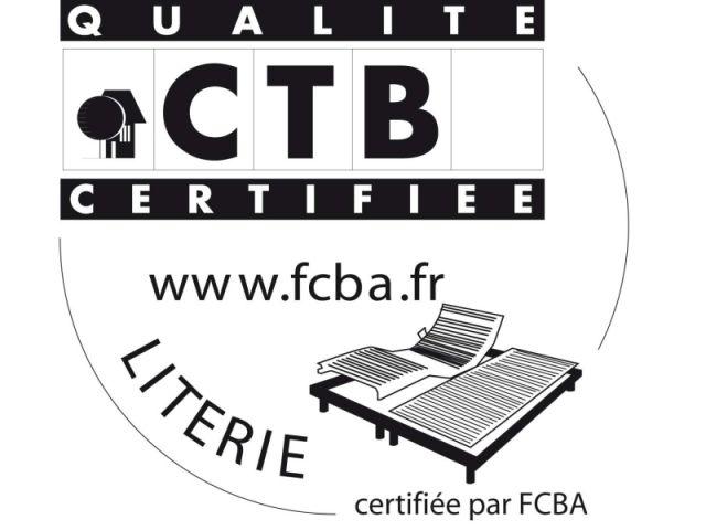 Logo literie FCBA