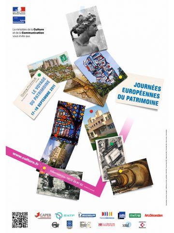 affiche journées patrimoine 2011