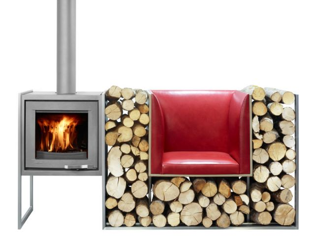 stockage bois des solutions pratiques et esth tiques. Black Bedroom Furniture Sets. Home Design Ideas
