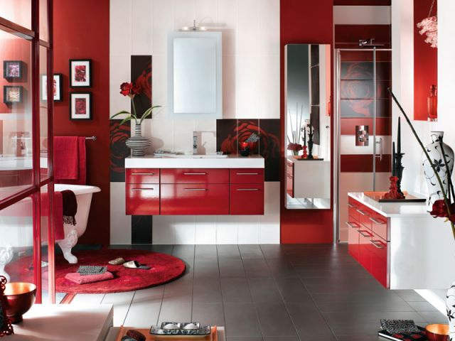 10 salles de bains 10 ambiances. Black Bedroom Furniture Sets. Home Design Ideas