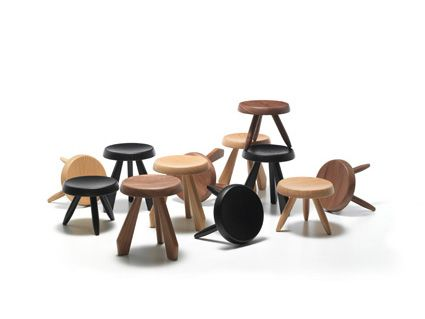 tabourets Charlotte Perriand