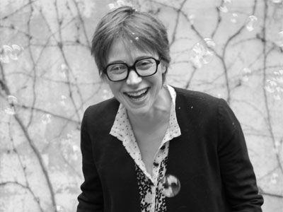 Amélie du Passage, fondatrice de la maison d'édition Petite Friture.