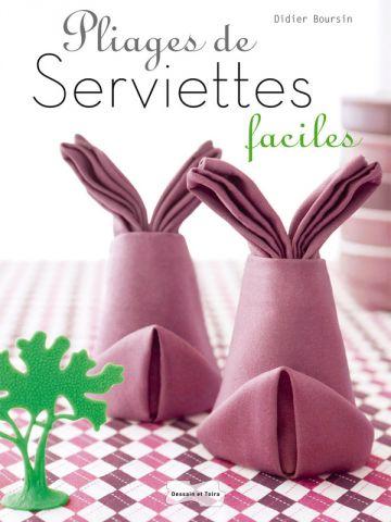 Pliages de serviettes faciles