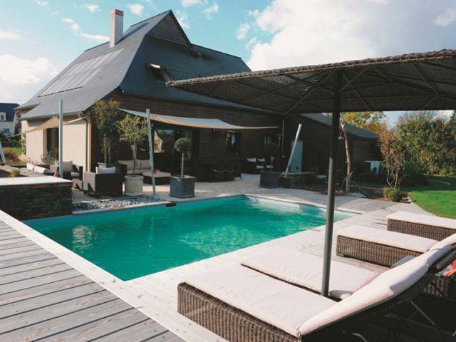 10 amnagements extrieurs qui transforment la maison - Amenagement Terrasse Piscine Exterieure