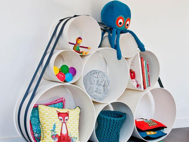 des rangements malins et ludiques pour les petits. Black Bedroom Furniture Sets. Home Design Ideas
