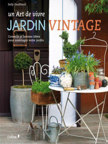 Jardin vintage - couverture livre
