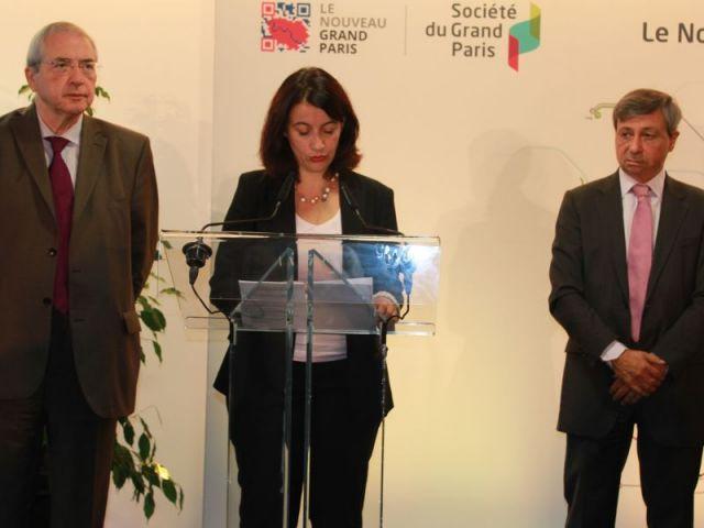 Cécile Duflot et le grand paris express