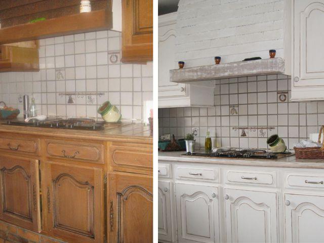 m tamorphose express pour une cuisine des ann es 80. Black Bedroom Furniture Sets. Home Design Ideas