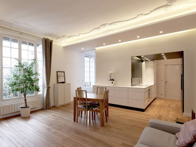 Am nagement int rieur exemples de faux plafonds astucieux for Fond plafond salon