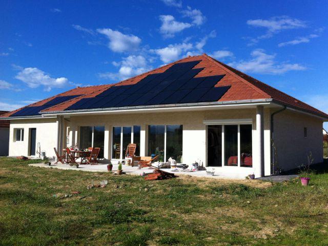 Une maison passive en b ton cellulaire conome et conomique Piscine en beton cellulaire