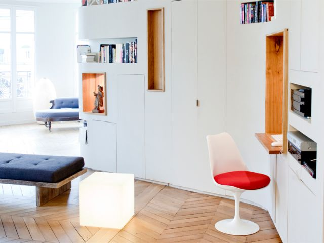 Bureau discret pour salon meuble tv avec bureau biblioth que l