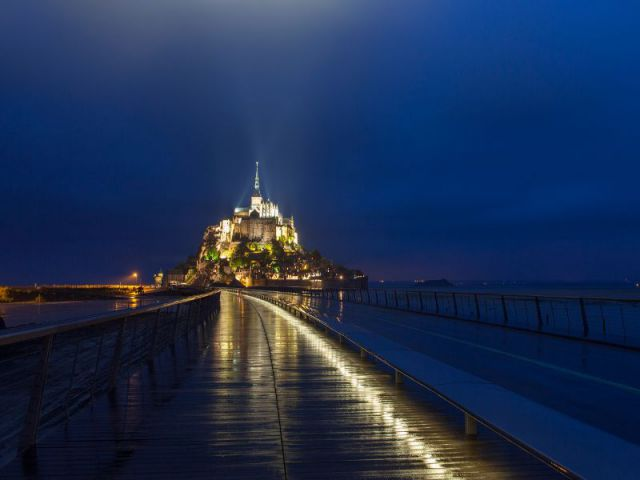 Mont-Saint-Michel : la merveille de Dietmar Feichtinger accessible aux piétons depuis le mardi 22 juillet