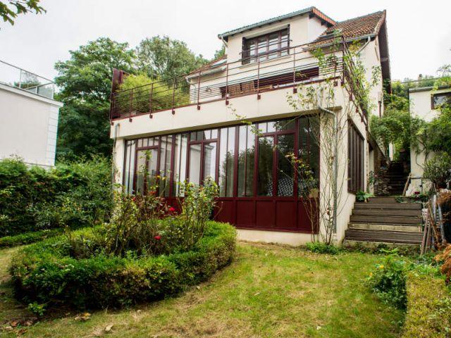 Une maison ouvri re s 39 offre une extension vintage et lumineuse - Maison parisienne ...