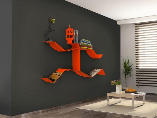 10 solutions originales pour ranger ses livres. Black Bedroom Furniture Sets. Home Design Ideas