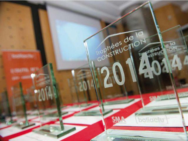 trophées batiactu 2014