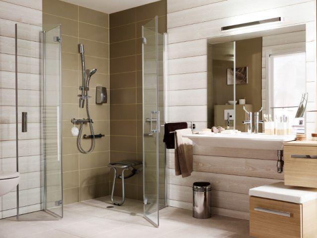 Am nager une salle de bains pour une personne g e - Salle de bain maison de retraite ...