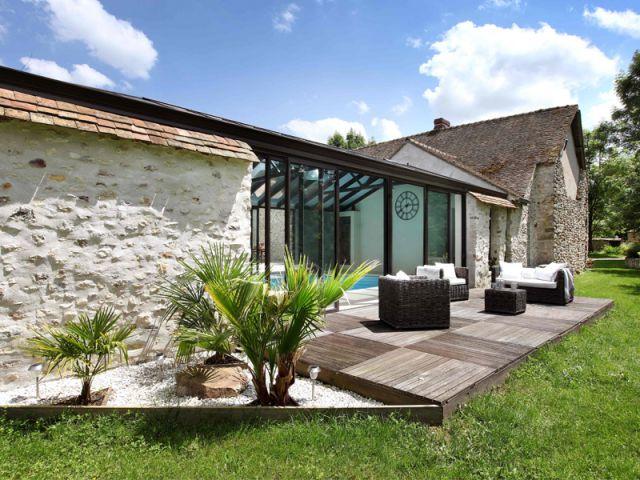 Maison Avec Veranda Integree Belle Extension Pour La Maison Http