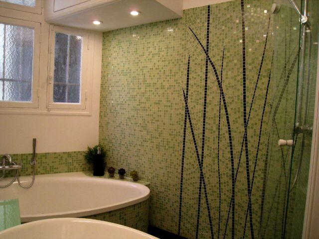 De la cuisine à la salle de bains, la mosaïque contemporaine ...