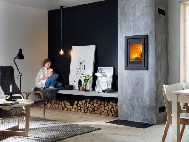 le bois de chauffage se fait une place dans la maison. Black Bedroom Furniture Sets. Home Design Ideas