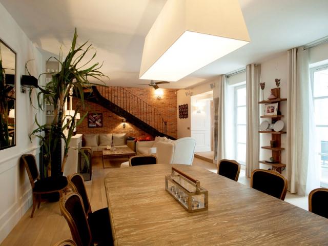 3 logements r unis pour cr er une maison familiale de 270m2 - Creer style minimaliste maison familiale ...